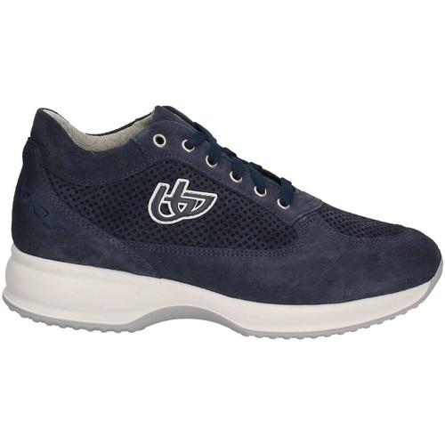 Chaussures Femme Baskets basses Byblos Blu 672002 Sneakers Femmes Bleu Bleu