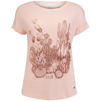Vêtements Femme T-shirts manches courtes O'neill T-Shirt  Lw Cali Nature - Pale Blush blanc