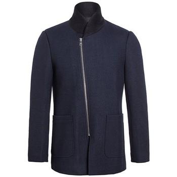 Vêtements Homme Manteaux Bombers CABAN VOLOGONO Bleu Marine
