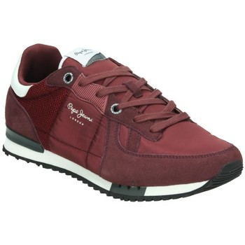 Chaussures Homme Baskets basses Pepe jeans PMS30378 ROUGE