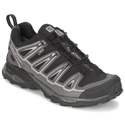 Chaussures Homme Randonnée Salomon X ULTRA GTX Noir / Blanc