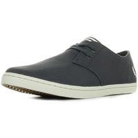 Chaussures Homme Baskets basses Fred Perry Byron Low Twill Charcoal gris