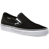 Chaussures Homme Slips on Vans Chaussures  U Classic Slip-On - Black Noir