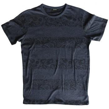 Vêtements Homme T-shirts manches courtes Nixon T-shirt  Exchange Reversible - Midnight Navy Heather Bleu
