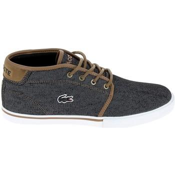 Chaussures Homme Baskets basses Lacoste Ampthill 317 1 CAM Noir Marron Noir