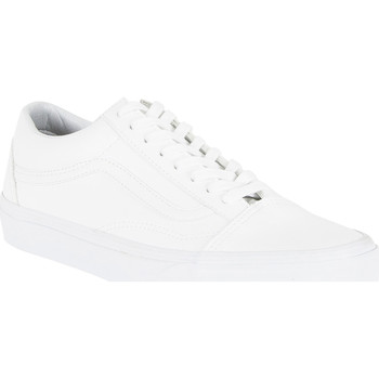 Chaussures Homme Baskets basses Vans Homme Old Skool Classic Tumble Trainers, Blanc blanc