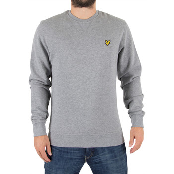 Vêtements Homme Sweats Lyle & Scott Homme Sweat-shirt Logo, Gris gris
