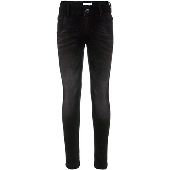 Vêtements Garçon Jeans slim Name It Kids NITCLAS XSL DNM PANT NMT NOOS Noir