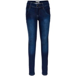Vêtements Garçon Jeans skinny Name It Kids NITTAX SLIM DNM PANT NMT NOOS Bleu