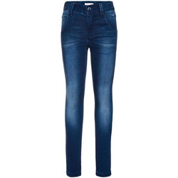 Vêtements Garçon Jeans slim Name It Kids NITCLASSIC DARK XSLXSL DNM PANT Bleu
