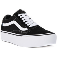 Chaussures Femme Baskets basses Vans OLD SKOOL PLATFORM Nero