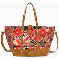 Sacs Femme Cabas / Sacs shopping Desigual Sac Martinika Boho Marron 17WAXFTG 28