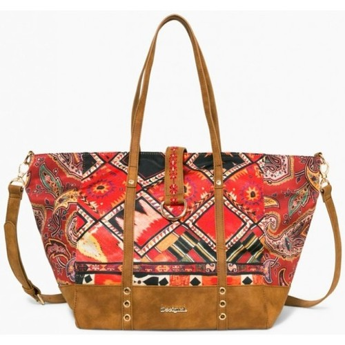 Sacs Femme Cabas / Sacs shopping Desigual Sac Martinika Boho Marron 17WAXFTG Brun