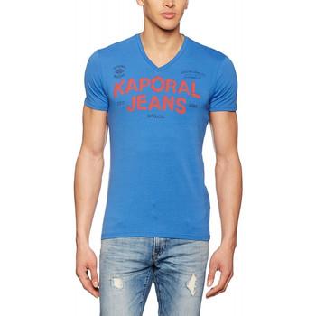 Vêtements Homme T-shirts manches courtes Kaporal T-Shirt Tropi Jeans (sp) Bleu