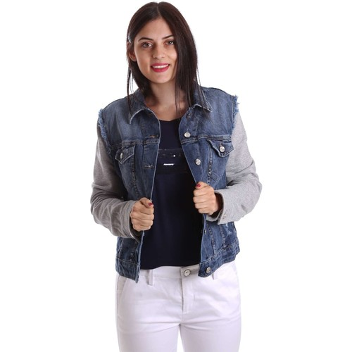 Vêtements Femme Vestes en jean Liu Jo U17064D0219 Veste Femmes Bleu Bleu