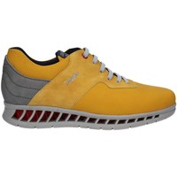 Chaussures Homme Baskets basses CallagHan 10401 Sneakers Man Jaune Jaune