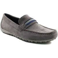Chaussures Homme Mocassins Geox SNAKE MOCASSINO U7207F GRIS