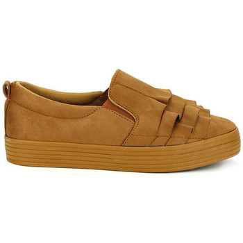 Chaussures Femme Slip ons Cendriyon Baskets Caramel Chaussures Femme, Caramel