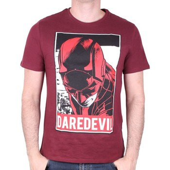 Vêtements Homme T-shirts manches courtes Cotton Division Tshirt Daredevil Marvel - Daredevil Obey Style Violet