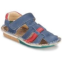 Chaussures Garçon Sandales et Nu-pieds El Naturalista KIRI Bleu / Rouge