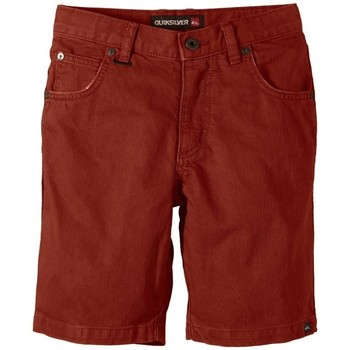 Vêtements Garçon Shorts / Bermudas Quiksilver Short  Kracker - Orange Or