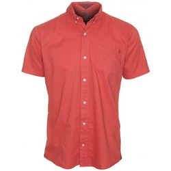 Vêtements Homme Chemises manches courtes Volcom Chemise  Weirdoh Faded Ss - Orange Or