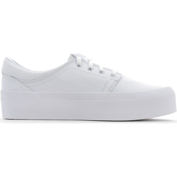 Chaussures Femme Baskets basses DC Shoes Trase Platform White