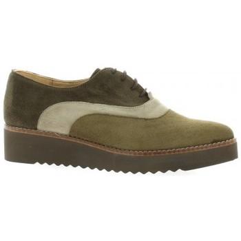 Chaussures Femme Derbies Vidi Studio Derby cuir velours Marron