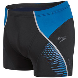 Vêtements Homme Maillots / Shorts de bain Speedo Short de bain  Fit Graphic Aquashort Noir et Bleu NOIR