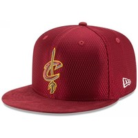 Accessoires textile Homme Casquettes New Era Casquette NBA Draft 2017 Cleveland Cavaliers  On court 59Fifty