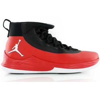 Chaussures Homme Baskets montantes Nike Chaussure de Basketball  Ultra Fly 2 Rouge et noir pour homme