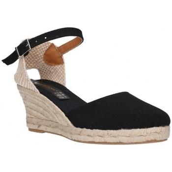 Chaussures Femme Espadrilles Fernandez 682 5c noir