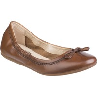 Chaussures Femme Ballerines / babies Hush puppies Lexa Heather Bow Brown