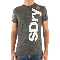 Vêtements Homme T-shirts manches courtes Superdry T-Shirt  International Registered Tee Gris