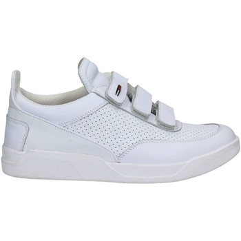 Chaussures Homme Baskets basses Tommy Hilfiger FM0FM00605 Sneakers Man Bianco Bianco
