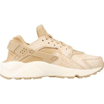 Chaussures Femme Baskets basses Nike AIR HUARACHE RUN PRM Brun clair