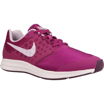 Chaussures Femme Baskets basses Nike DOWNSHIFTER 7 (GS) Rouge