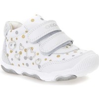 Chaussures Fille Baskets basses Geox Balu Blanc