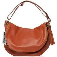Sacs Femme Sacs porté épaule Oh My Bag Sac à Main cuir souple - Modèle 72 heures (moyen) cognac COGNAC