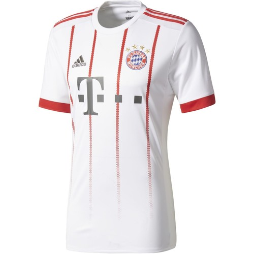 Vêtements Homme T-shirts manches courtes adidas Performance Maillot FC Bayern Munich UCL Replica Blanc / Rouge