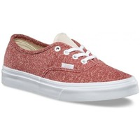 Chaussures Femme Baskets basses Vans Chaussures  U Authentic J S - Tibetan Red / True White Rouge