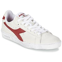 Chaussures Baskets basses Diadora GAME L LOW WAXED Blanc / Rouge