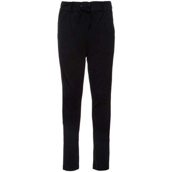 Vêtements Fille Chinos / Carrots Name It Kids NITIDA PANT NMT NOOS Noir