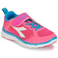 Chaussures Fille Baskets basses Diadora NJ-303-1 JR Rose