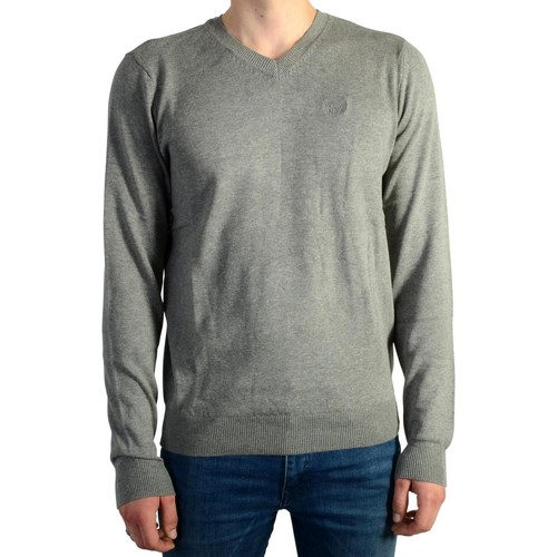 Vêtements Homme Pulls Kaporal Pull  Tavel 3.0 Grey Melanged Gris
