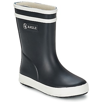 Chaussures Enfant Bottes de pluie Aigle BABY FLAC Noir