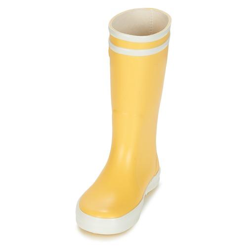 Aigle Chaussures JauneBlanc Enfant De Bottes Pluie Lolly Pop QCxoeBWrEd