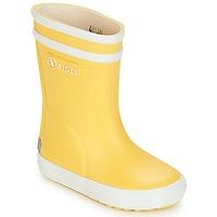 Chaussures Enfant Bottes de pluie Aigle BABY FLAC Jaune