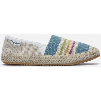 Chaussures Fille Espadrilles Pepe jeans Espadrilles Game Fantasy blanches blanc