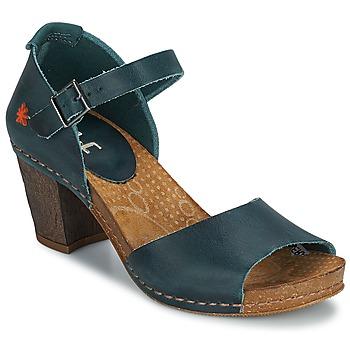 Chaussures Femme Escarpins Art IMEET Vert canard